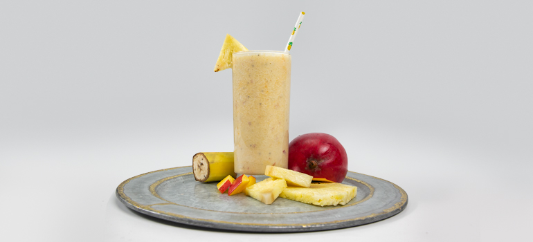 Tropical Vacation Protein Smoothie