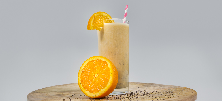 Orange Dreamsicle Protein Smoothie