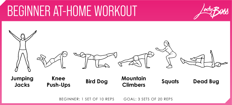 How to start working out at home