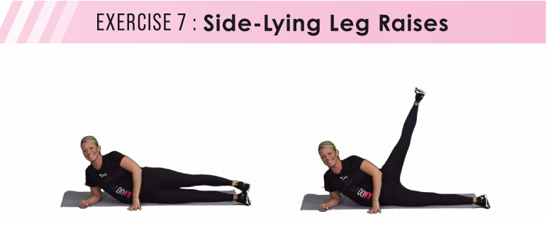 HIIT workout plan - leg raises