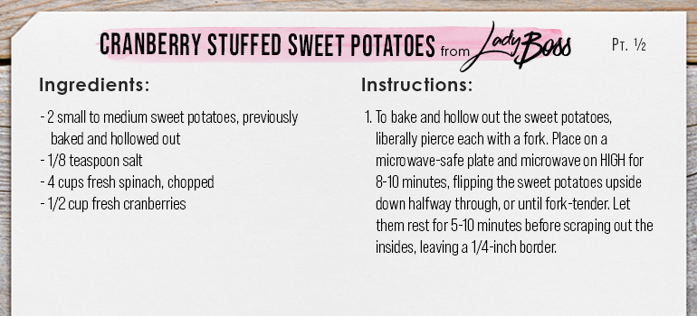 Healthy Thanksgiving Sides - Sweet Potatoes