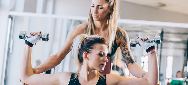 choose personal trainer