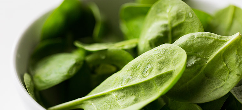HEADER spinach