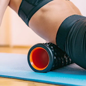 lower Back foam roller
