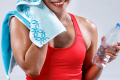 Women drinking water after cardio workout for women