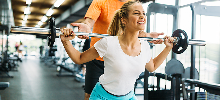 Staying safe while weight lifting