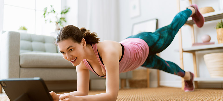 Online Trainer home work out