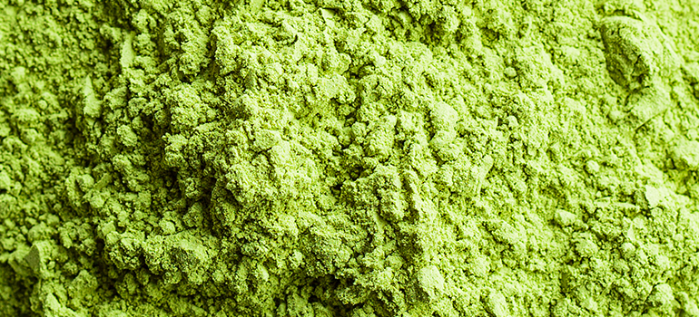 GREENS in powdered form